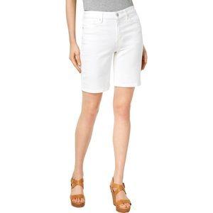 Calvin Klein Bermuda cuffed jean shorts size 12